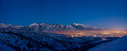 Twilight Prints - Utah Valley Print by Chad Dutson