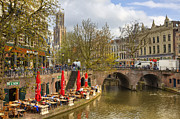 City Canal Prints - Utrecht Print by Joana Kruse