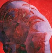 Uv Head Print by Graham Dean