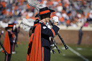 Cavaliers Posters - UVA Virginia Cavaliers Marching Band Poster by Jason O Watson