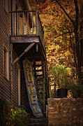 Eureka Springs Prints - Vacancy Print by Priscilla Burgers