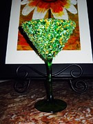 Food And Beverage Glass Art Metal Prints - Vacation  Metal Print by Rodney Friend