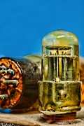 Electronic Photos - Vacuum Tube by Paul Ward