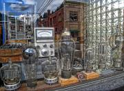 Amp Photo Framed Prints - Vacuum Tubes and Diodes - WALLACE IDAHO Framed Print by Daniel Hagerman