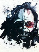 Darth Vader Paintings - Vader # 2 by Wade Edwards