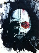 Darth Vader Paintings - Vader # 3 by Wade Edwards