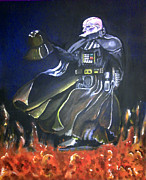 Darth Vader Paintings - Vader by Jacob Logan
