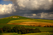 Tuscan Sunset Prints - Val dOrcia Print by Maurizio Martini