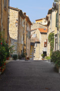 Urban Scenes Prints - Valbonne - French village of contradictions Print by Christine Till