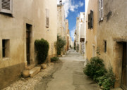 Mediterranean Prints - Valbonne - History and charm  Print by Christine Till