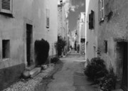 Urban Scenes Prints - Valbonne - Provence-Alpes-Cote dAzur - France Print by Christine Till