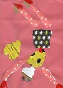 Valentine Dancer Print by Valerie  Colston