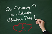 Whiteboard Digital Art - Valentine Day by Bogdan Zagan
