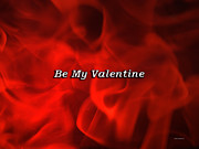 Candy Digital Art - Valentine Flames by Thomas Woolworth