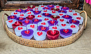 Georgina Noronha - Valentine heart candles