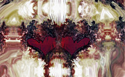 Hearts Digital Art - Valentine Love by Linda Sannuti