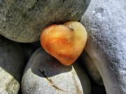 Valentine's Day- Heart Of Stone Print by Daliana Pacuraru
