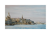 Ww11 Painting Framed Prints - Valetta.. Framed Print by Caroline Beaumont