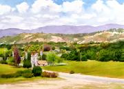 Nature Center Paintings - Valley Center California by Mary Helmreich
