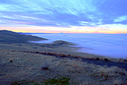Yakima Valley Photos - Valley Fog by Carol Groenen