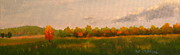 Patrick Paintings - Valley Forge Autumn landscape by Patrick ODriscoll