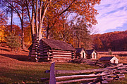Michael Porchik - Valley Forge cabin in...