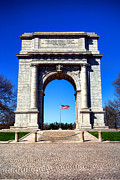 Valley Forge Landmark Print by Olivier Le Queinec