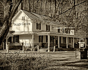 Valley Green Framed Prints - Valley Green Inn 3 Framed Print by Jack Paolini