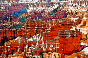 Scenic Photos - VALLEY of BRYCE HOODOOS by Linda  Parker
