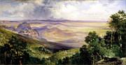 Thomas Moran - Valley of Cuernavaca by Thomas Moran