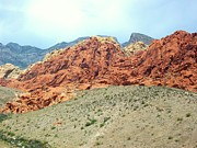 Christopher Fridley Prints - Valley of Fire Print by Christopher Fridley