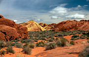 Haybales Art - Valley Of Fire by Robert Bales