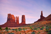 Terrain Prints - Valley of the Gods - A oasis for the soul Print by Christine Till