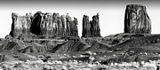 Hat Framed Prints Digital Art - Valley of the Gods by Jerry Fornarotto