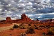 Rudolph Acrylic Prints - Valley of the Gods Stormy Clouds Acrylic Print by Robert Bales