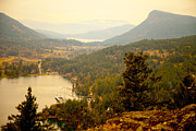 Saltspring Photo Originals - Valley scene by Graham Foulkes