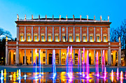 Outdoor Theater Prints - Valli Theater in Reggio Emilia - Italy Print by Eddy Galeotti