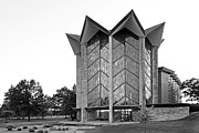 Indiana Images Photo Posters - Valparasio University Chapel of the Ressurection Poster by University Icons