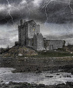 Lightning Photos - Vampire Castle by Juli Scalzi