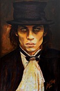 Dracula Paintings - Vampire - Dressed to Kill by Shirl Theis