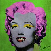 Vampire Marilyn Variant 2 Print by Filippo B