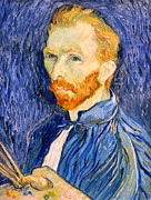 Self-portrait Photos - Van Gogh On Van Gogh by Cora Wandel