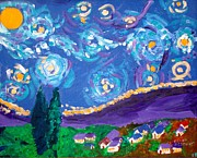 Ethan Altshuler - Van Gogh Starry Night