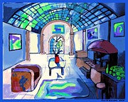 Eric  Schiabor - Van Goghs Living Room