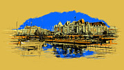 Whistler Sketch Paintings - Vancouver Art 001 by Catf