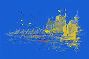 Vancouver Giclee Prints Paintings - Vancouver Art 005 by Catf