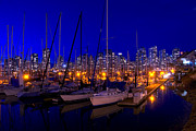Jetty View Park Photos - Vancouver Marina by Andrew Dobrzanski