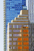 Abstract Photography - Vancouver Reflections No 1 by Ben and Raisa Gertsberg
