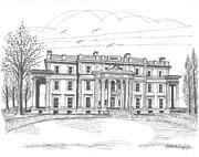 Vanderbilt Mansion Print by Richard Wambach