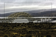 Color_image Prints - Vantage Bridge Print by Jean OKeeffe